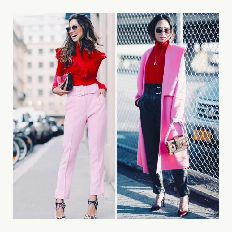 Як поєднувати червоний і рожевий кольори: практичні поради